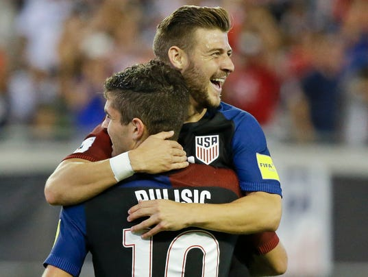 Christian Pulisic, Paul Arriola