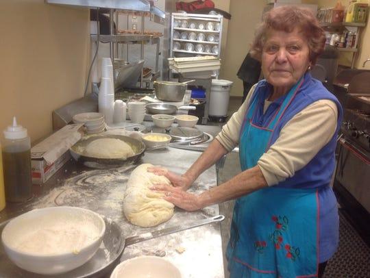 Josie Cinelli, grandmother of chef Tom Cinelli, makes