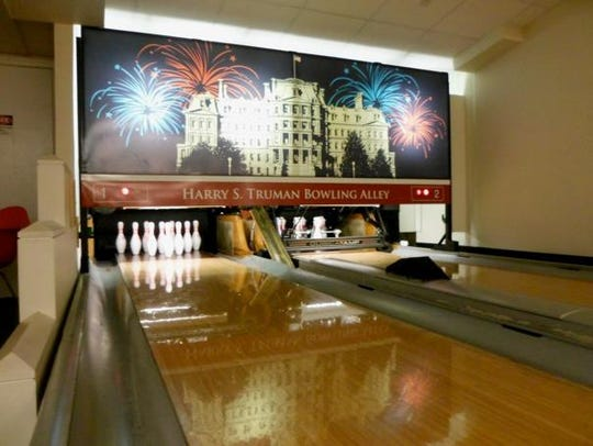 The Harry S. Truman Bowling Alley.