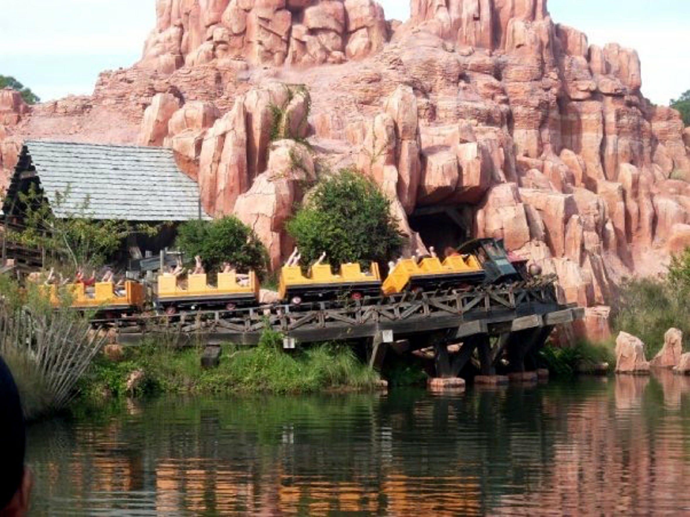 Big Thunder Mountain Railroad is a roller coaster set