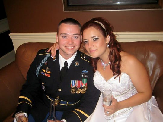 Donald Dutton and his wife Kimberly. WOS allowed for