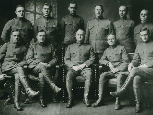Officers of Hospital Unit S during World War I: R.