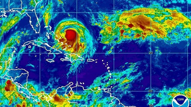 Hurricane Joaquin forms near the Bahamas