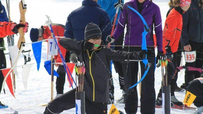 Ski archery is one of the activities planned for the 31st annual Bryce Canyon Winter Festival on Feb. 13–15 at Ruby's Inn near Bryce Canyon National Park.