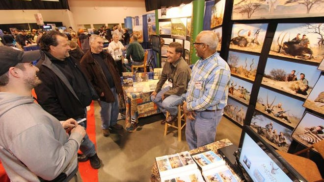 Outfitters Expo at Outdoorama provides family vacation and adventure travel, including hunting and fishing trips to many locales.