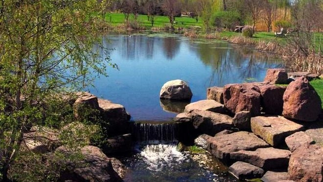 This scene from the Kent Park Arboretum in Webster is typical of the beauty to be found in east side parks.