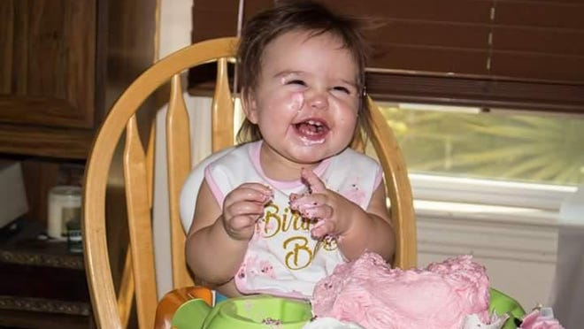 Aria Rose Hebert, Sept. 25, 2016. Daughter of Crystal Hebert and Thomas Hebert.