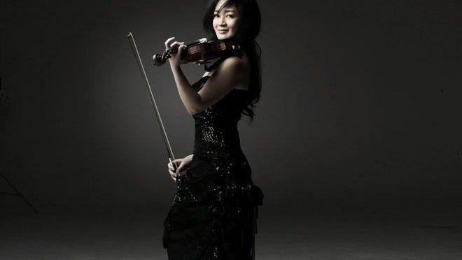 Violinist Chee-Yun headlined a diverse program on Sunday in the Gubelmann Auditorium.