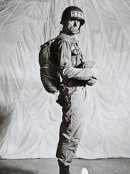 Jim Byrd at Fort Benning jump school in 1962.