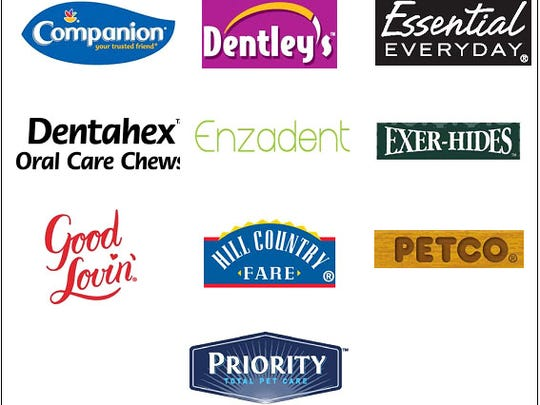Rawhide brands being recalled due to potential chemical contamination
