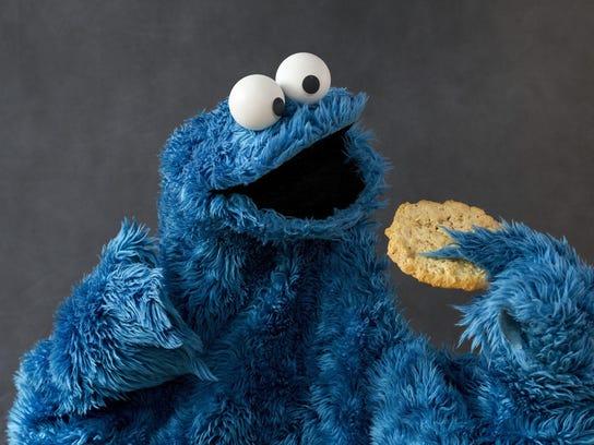 Cookie Monster by Eileen Blass art