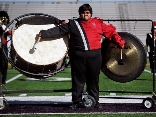 Colorado High School senior Jordan Lopez plays the