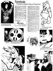 Tombola Days festivities in 1975.