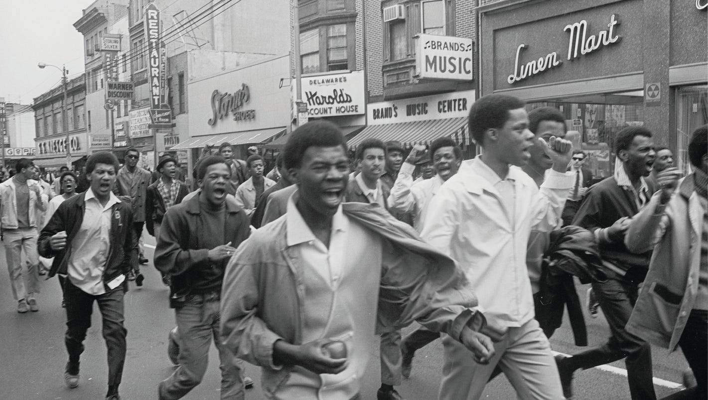 A few photos from the 1968 riots and occupation of Wilmington