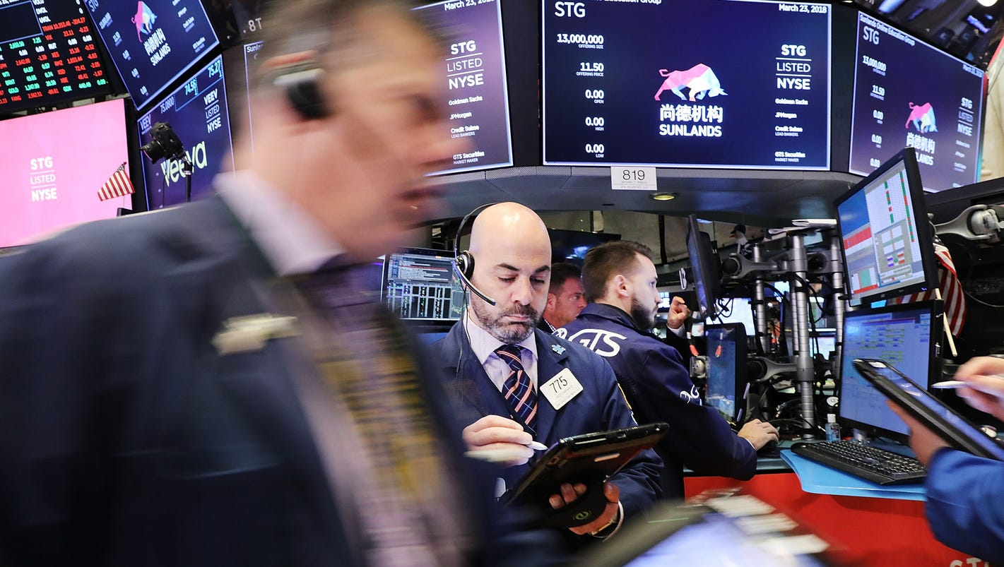 Dow rebounds by 669 points, its best day since 2008, as trade war fears ease in stock market