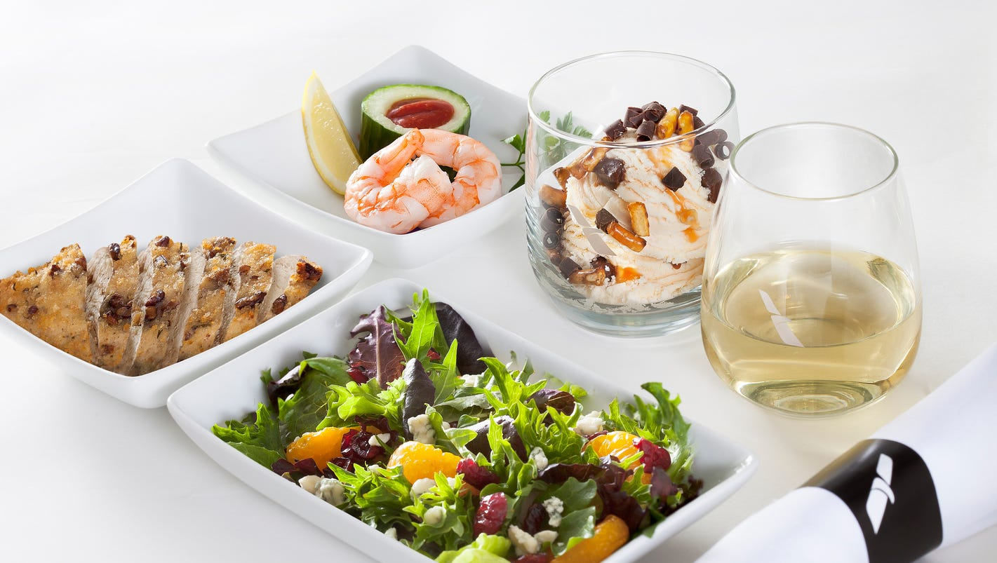 Five myths about airline food