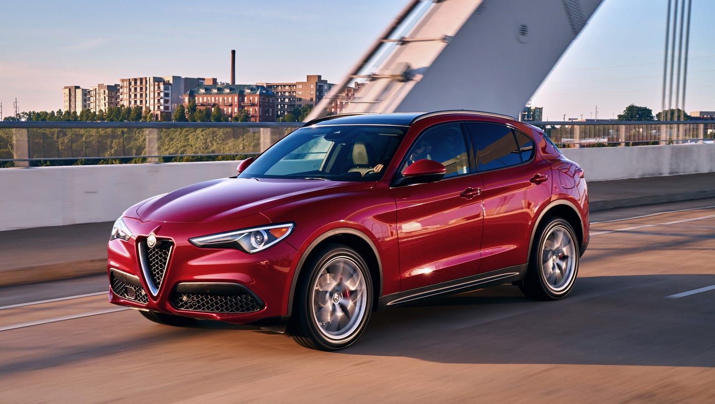first drive 2018 alfa romeo stelvio introduces italian. Black Bedroom Furniture Sets. Home Design Ideas