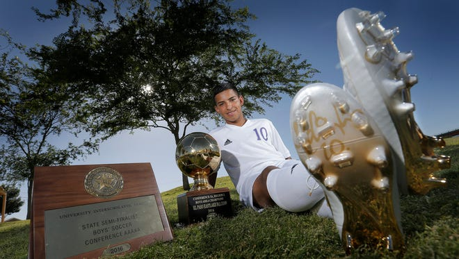 Eastlake's Johnathan Hernandez is the El Paso Times' Boys soccer MVP.