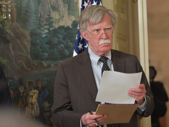 National Security Adviser John Bolton