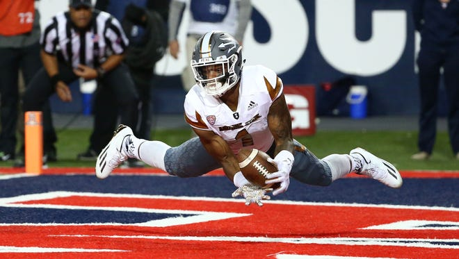 Sophomore receiver N'Keal Harry was a Freshman All-American last season and should be among the top players in the Pac-12.