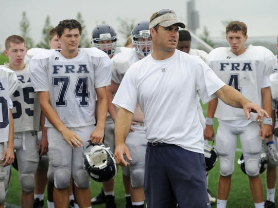 Franklin Road Academy coach Bill Whittemore.