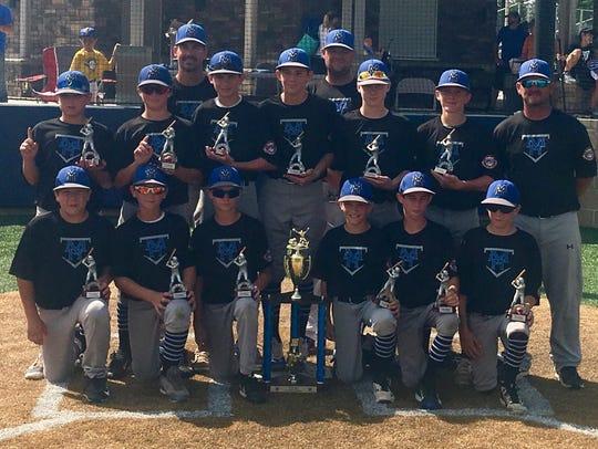 The Mountain Home 12-year-old Cal Ripken Baseball team