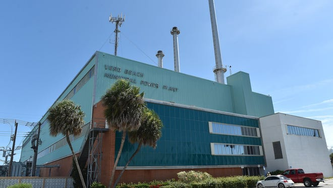 The Vero Beach electric plant stopped operations in 2015.