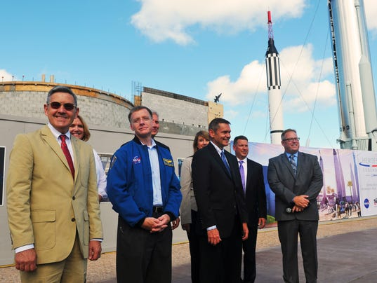 Heroes & Legends topping off at KSC