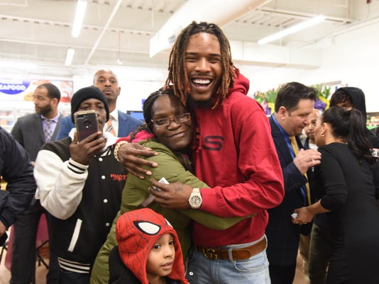 fetty wap brings early easter gifts to paterson nj