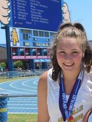 Noela Moraga earned berths in the hammer throw and