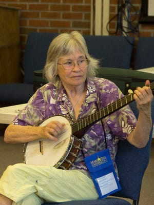Hilary Dirlam is a co-ordinator and instructor for Blue Ridge Old Time Music Week at Mars Hill University.