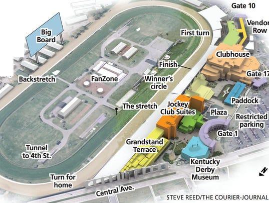 kentucky downs map - 28 images - hotels near churchill downs ...
