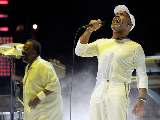 Veteran R&B act Maze featuring Frankie Beverly headlines the Orpheum on Sunday.