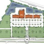 Plan for Pineda Landings shopping center.