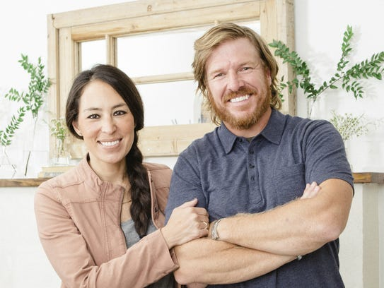 'Fixer Upper' stars Joanna and Chip Gaines