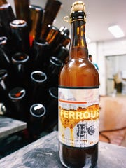 Ferrous: Fe20 Anniversary Ale, a Brett Saison brewed exclusively for this weekend's anniversary celebration.