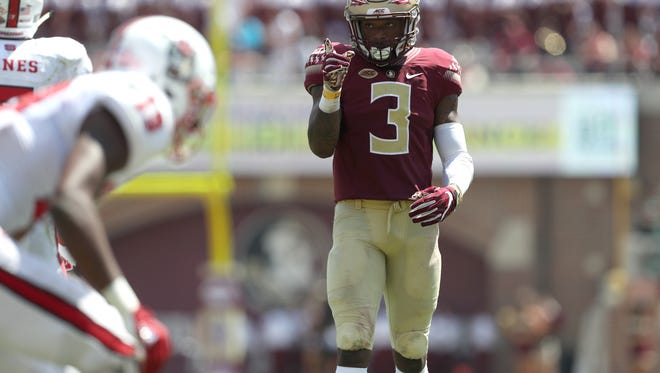 Former Seminole Derwin James is a top safety prospect in this year's NFL Draft.