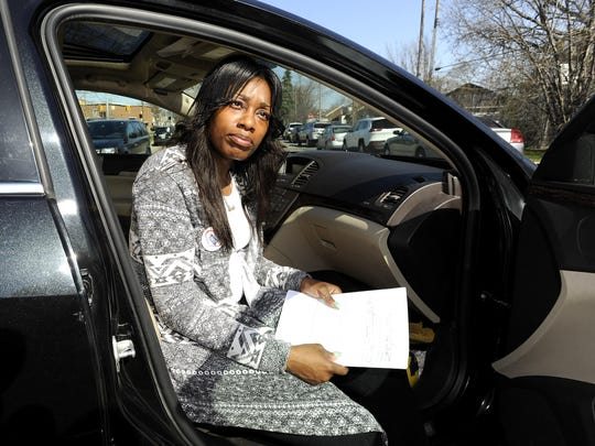 Leslie Reeves, 32, also of Detroit, said she heard about lead in water at DPS schools, but didn't know Ronald Brown Academy — where her 7-year-old goes and her 4-year-old will go next fall — had tested the highest.