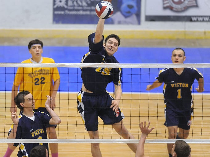Victor defeated Bellmore JFK-VIII, 3-0 for the Division II title Friday.