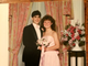 Brandon Gentry and Kristin Struck Marchiani dressed up for Concord High School's 1988 prom.