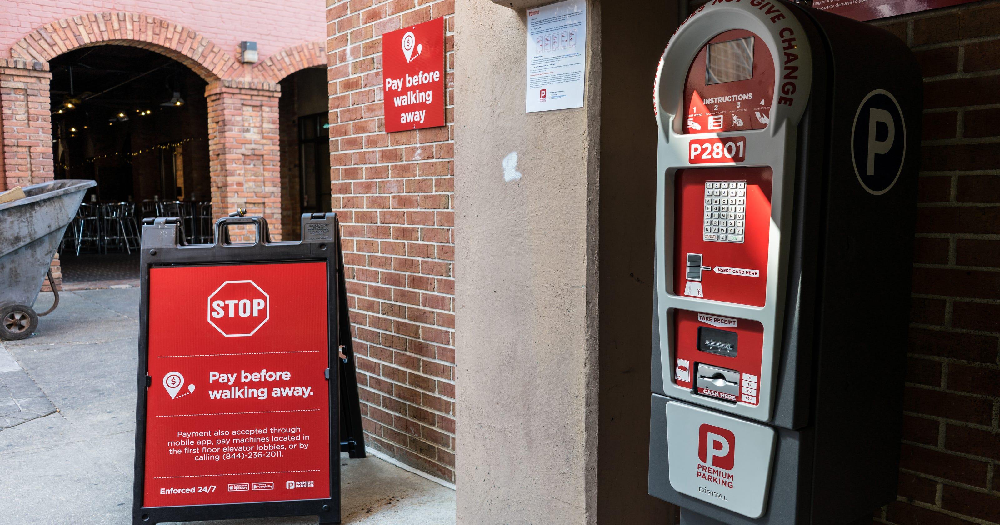 Pensacola DIB gives Premium Parking 30 days to address