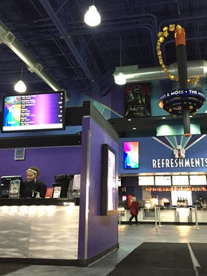 The interior of Novi's Emgaine Theater at the Twelve Mile Crossing at Fountain Walk.