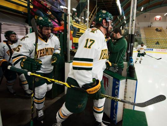 Maine vs. Vermont Men's Hockey 03/06/15