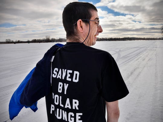 Despite a dire diagnosis, Jim Roush looks back positively on last year's plunge. At the very least, jumping into those icy waters probably extended his life.
