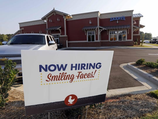 U.S. employers added 201,000 jobs in August, the Labor Department said Friday. The unemployment rate remains at a low 3.9 percent.