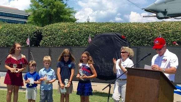 Creative Learning Academy students were honored Monday at a Memorial Day ceremony hosted by the Veterans Memorial Park Board. The students wrote essays on what veterans mean to them.