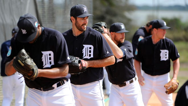 Tigers pitchers, including Justin Verlander, throw their bullpens on Saturday.