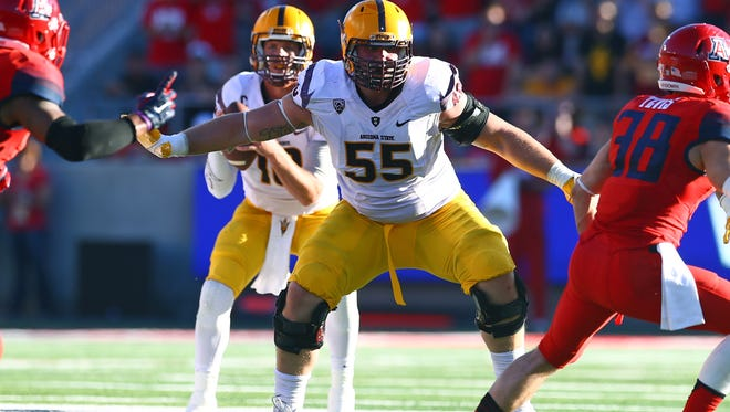 The Bengals took Arizona State Sun Devils offensive lineman Christian Westerman in the fifth round of the 2016 NFL Draft.
