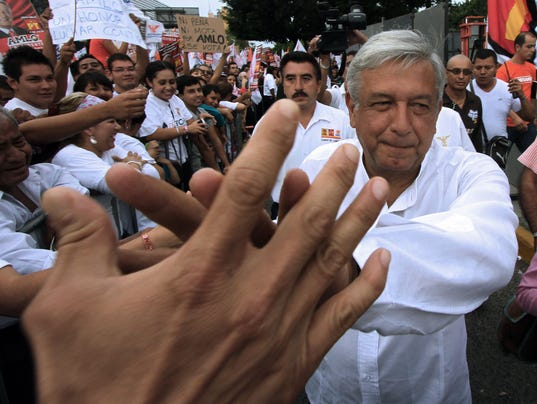 Mexican presidential candidate for the l
