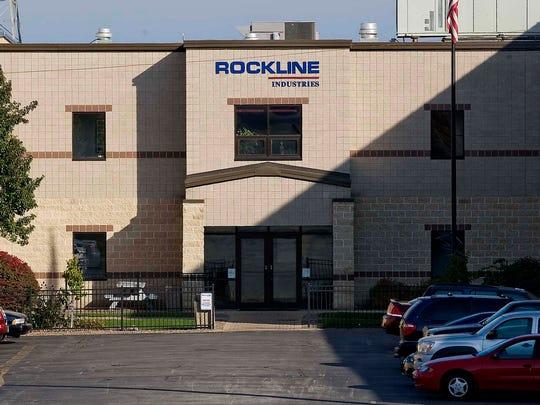The exterior of Rockline Industries in Sheboygan.